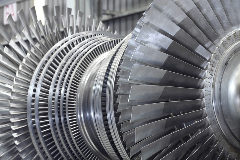 Internal rotor of a steam Turbine